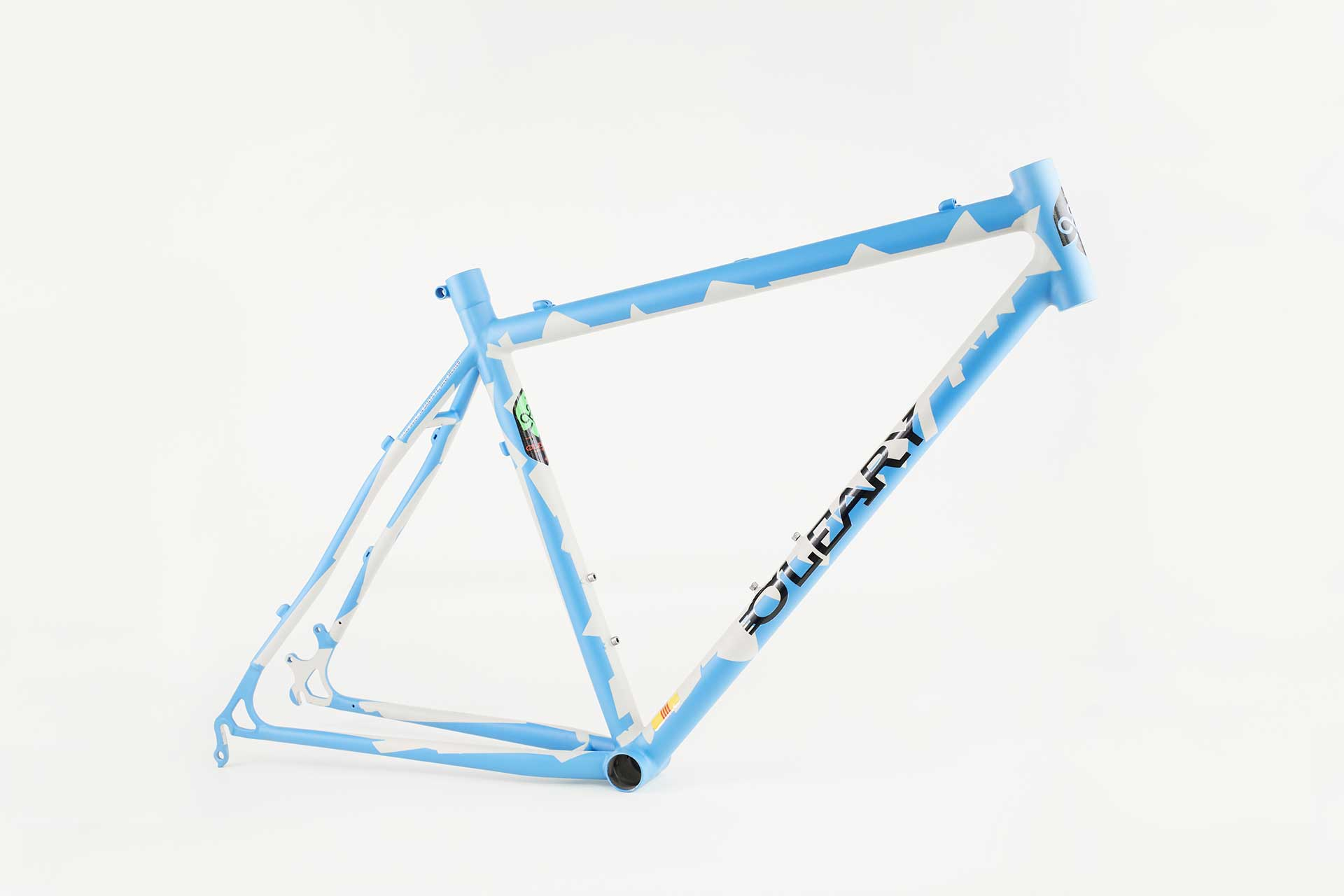 )'Leary custom built bicycle frame